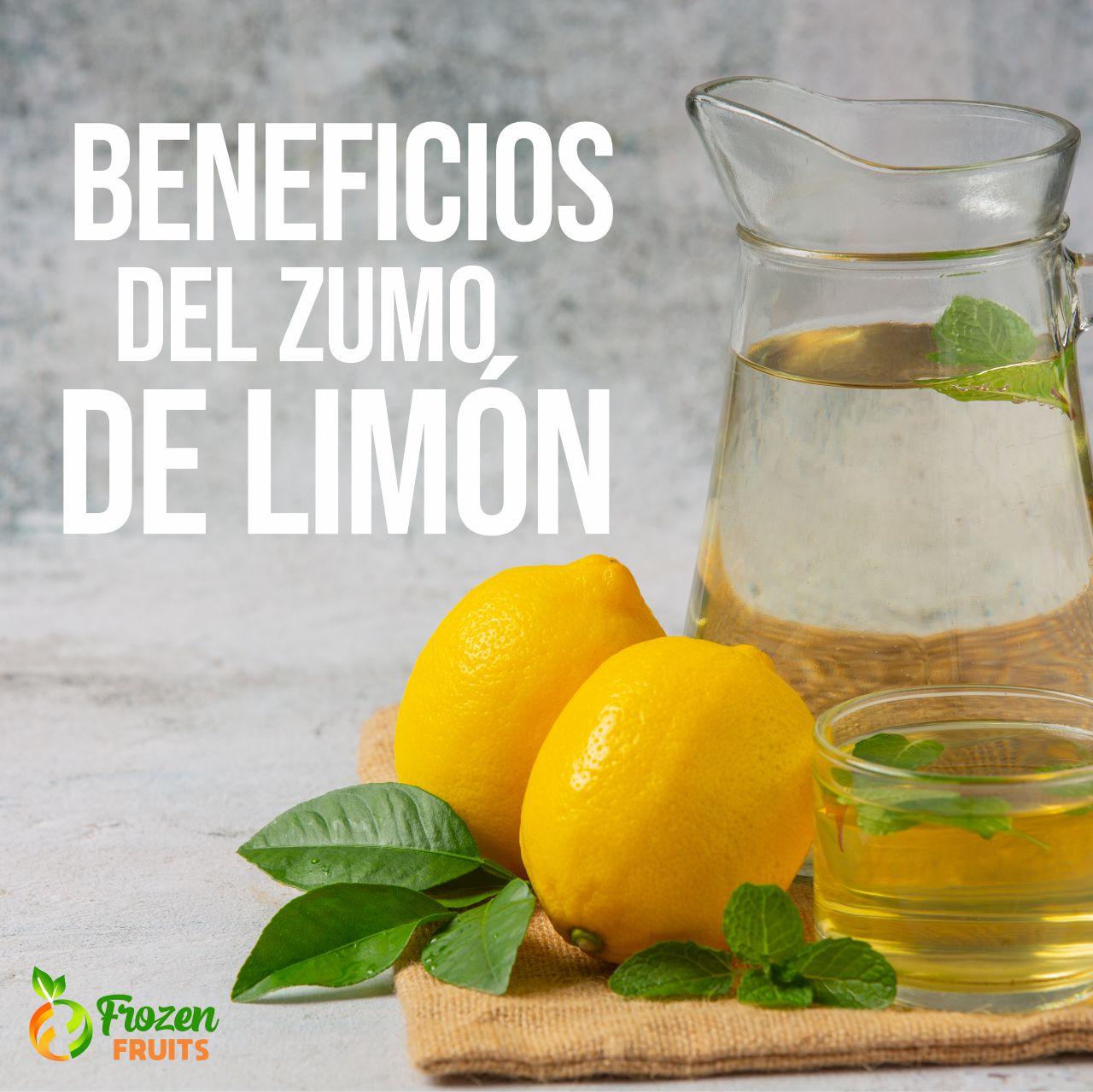 Porqué debemos consumir  zumo de limón?