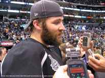 LA Kings left wing Dustin Penner