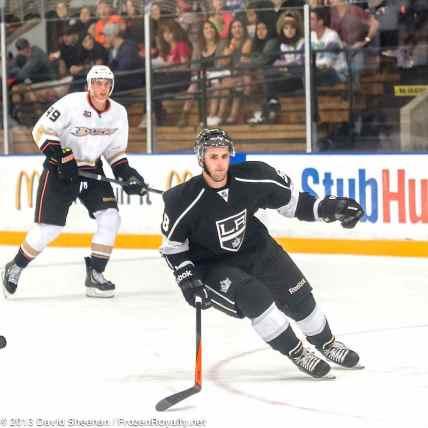 Anaheim Ducks vs. LA Kings Rookie Game, 9-9-13 - 29