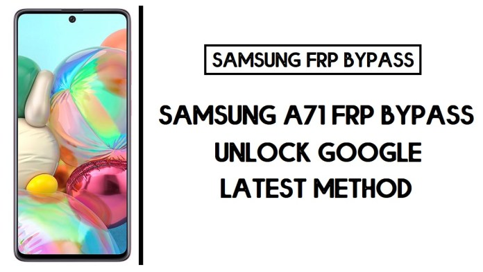 Samsung A71 FRP Bypass (Unlock SM-A515F/FN Google Account) Android 10