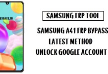 Samsung A41 FRP Bypass (Unlock SM-A415F Google Account) Android 10