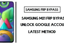 Samsung M21 FRP Bypass (Unlock Google Account) Android 10