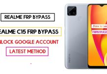 Realme C15 FRP Bypass (Unlock Google Account) Android 10 (FRP Code)