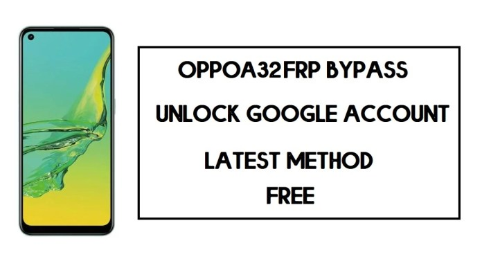 Oppo A32 FRP Bypass (Unlock Google Account) Android 10 | FRP Code