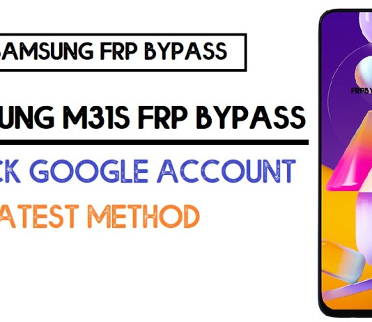 Samsung M31s FRP Bypass (Unlock SM-M317F Google Account) Android 10