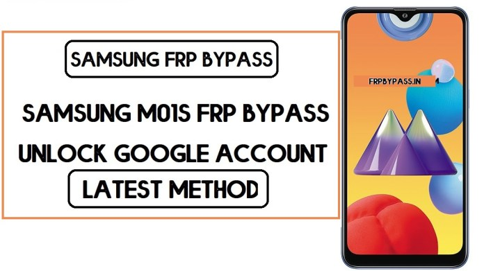 Samsung M01s FRP Bypass (Unlock SM-M017F Google Account) Android 9
