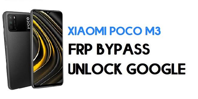Xiaomi Poco M3 FRP Bypass | Unlock Google Verification (MIUI 12)