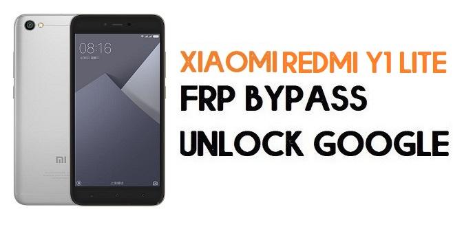 Xiaomi Redmi Y1 lite FRP Bypass | Unlock Google Verification (MIUI 11)
