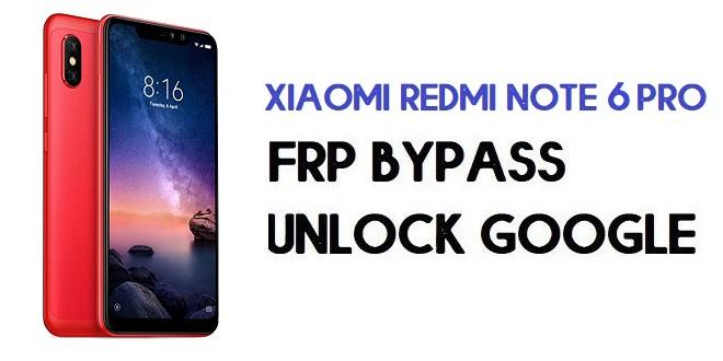 Xiaomi Redmi Note 6 Pro FRP Bypass | Unlock Google (MIUI 12)