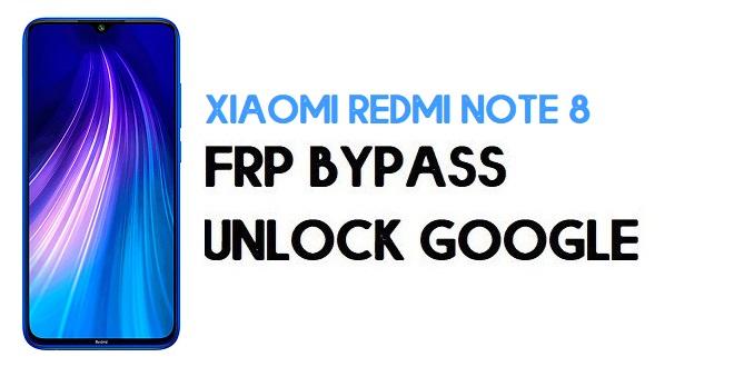 Xiaomi Redmi Note 8 FRP Bypass | Unlock Google Verification (MIUI 12)