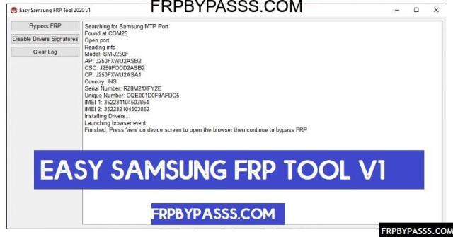 Samsung FRP Tool to Bypass FRP lock from all Samsung devices