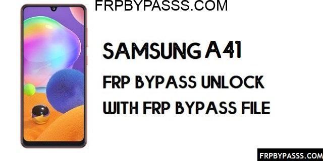 Samsung A41 (SM-A415F) FRP Bypass | FRP File (Unlock Google Account)