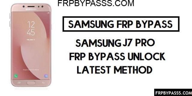 Samsung J7 Pro (SM-J730) FRP bypass (Unlock Google Account)