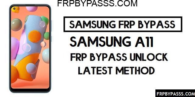 Samsung A11 (SM-A115F) FRP Bypass File (Unlock Google)-Latest