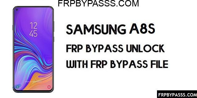 Samsung A8s (SM-G887) FRP Bypass | FRP File (Unlock Google Account)