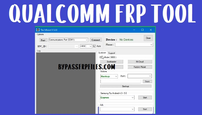 All in One Qualcomm FRP Tool To Remove FRP All Qualcomm Android