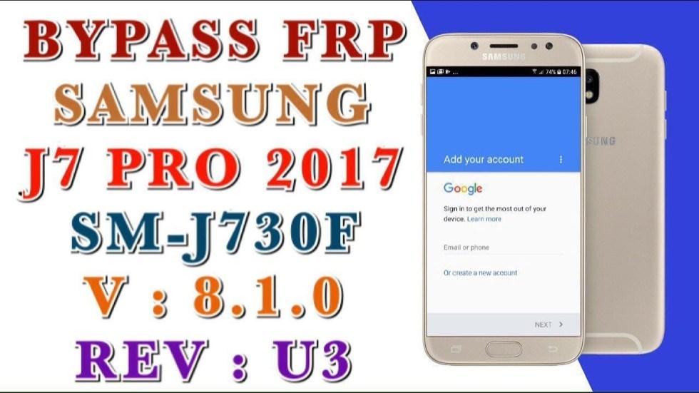 remove Samsung Google Account DELETE PIF SAMSUNG J7 PRO 2017 SM