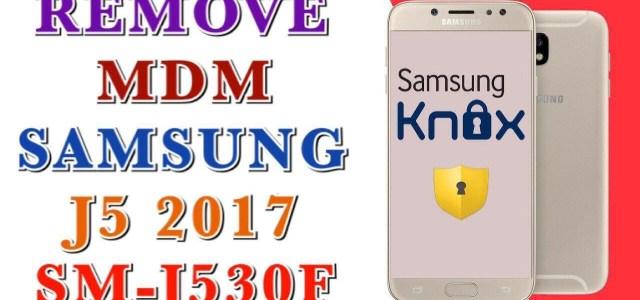 fix probleme remove mdm samsung j530f j5 2017 version 7 0 u2