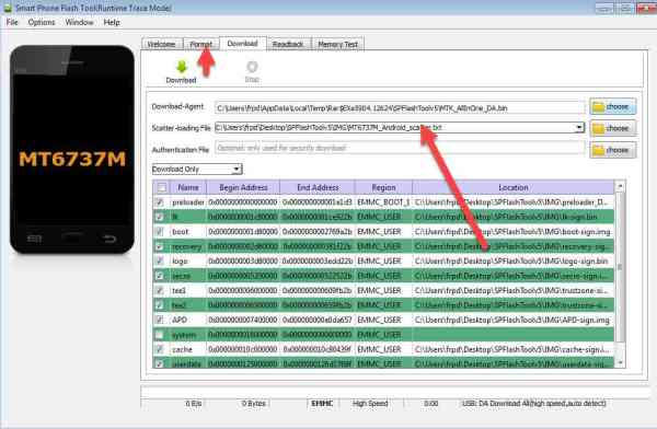 remove frp asus x008d done by scatter MT6737M_Android_scatter.txt 2