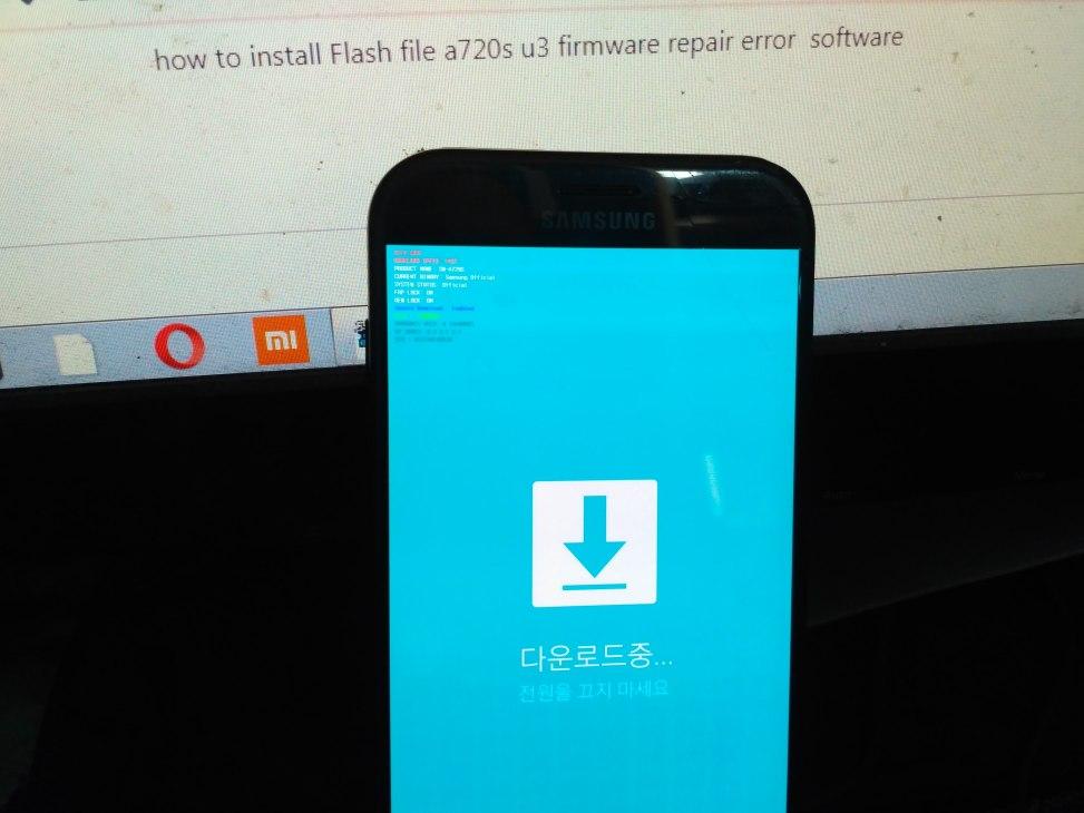 file flash a720s u3 firmware