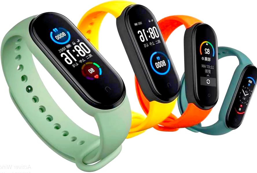 Xiaomi Mi Band 5 is a great buy.