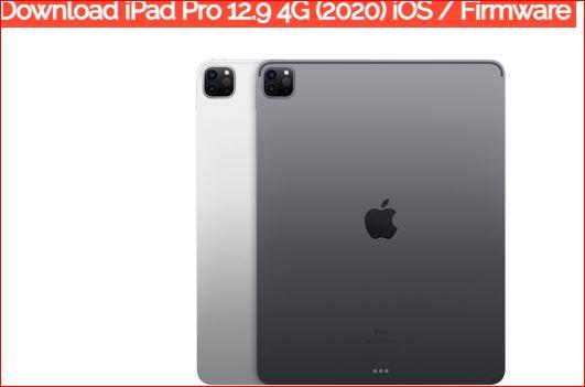 iPad Pro 12.9 4G (2020) iOS Firmware