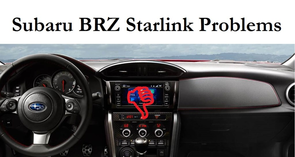 Having 2018 Subaru BRZ Starlink Problems? There's a Lawsuit About That