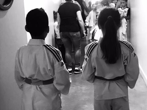 Judo enfants Foyer rural Signes