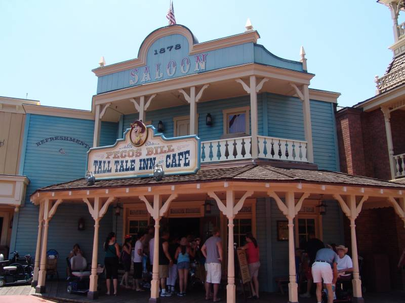 Pecos Bill Tall Tale Inn and Cafe in Frontierland