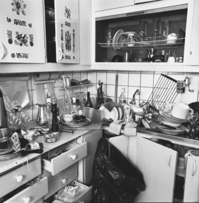 Kitchen in Chaos