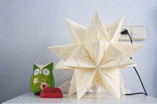 Lámpara de papel pergamino (I)