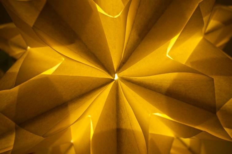 Lámpara de papel pergamino (IV)