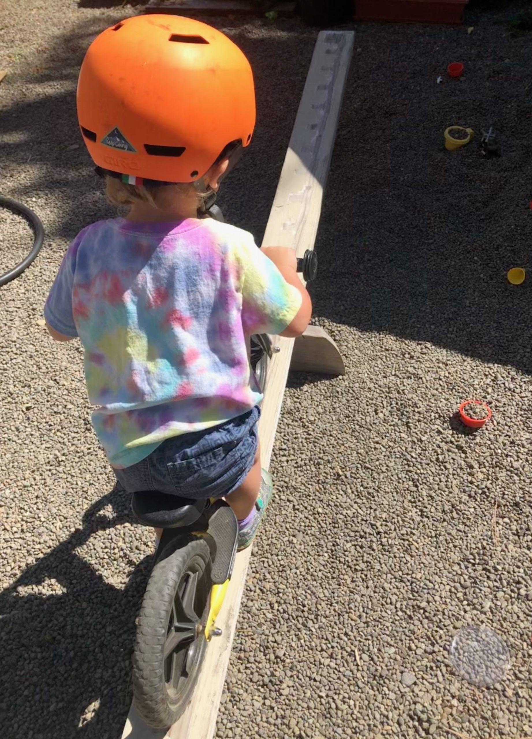 Bike obstacle ramp