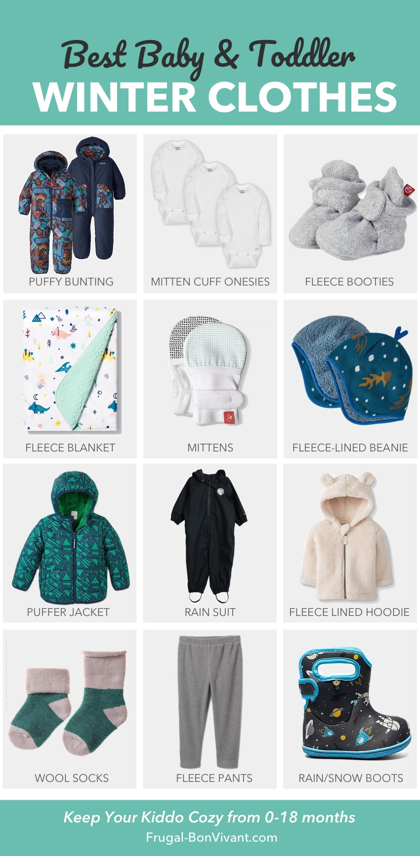 Best baby winter clothes
