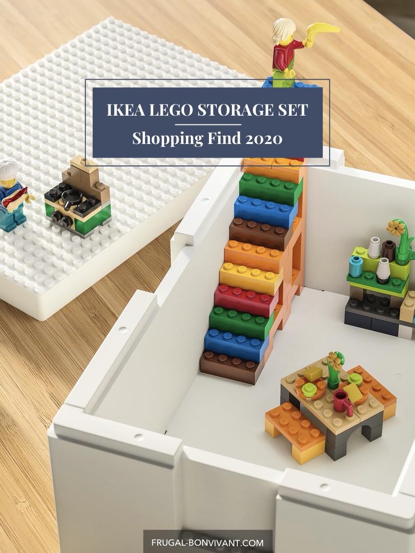 IKEA LEGO Storage set box and legos
