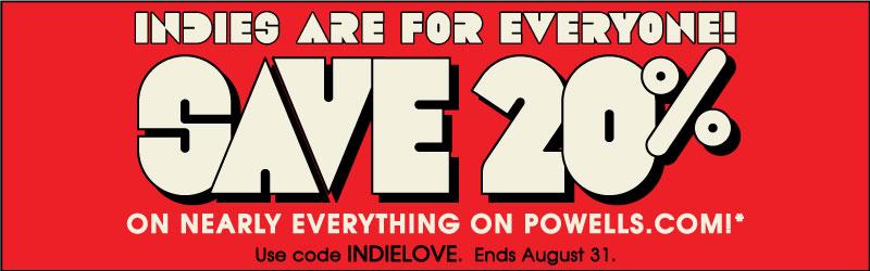 save 20 powells books coupon code