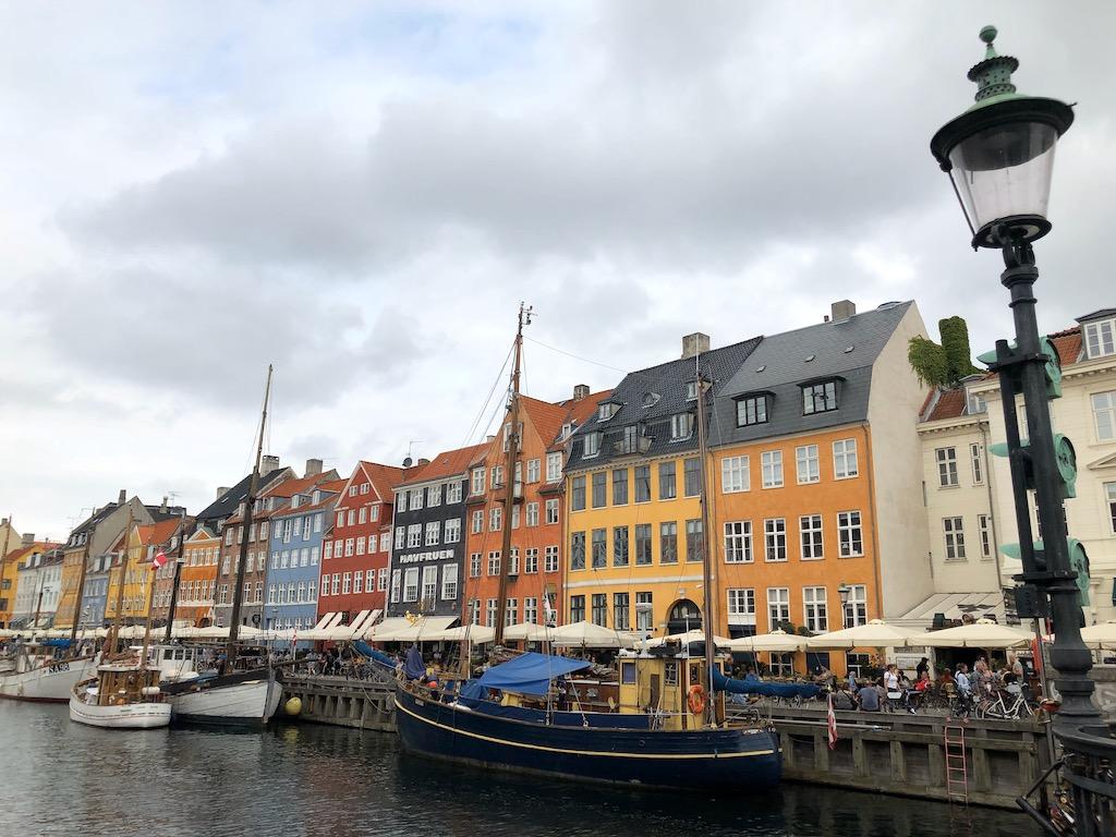 Copenhagen waterfront Nyhavn