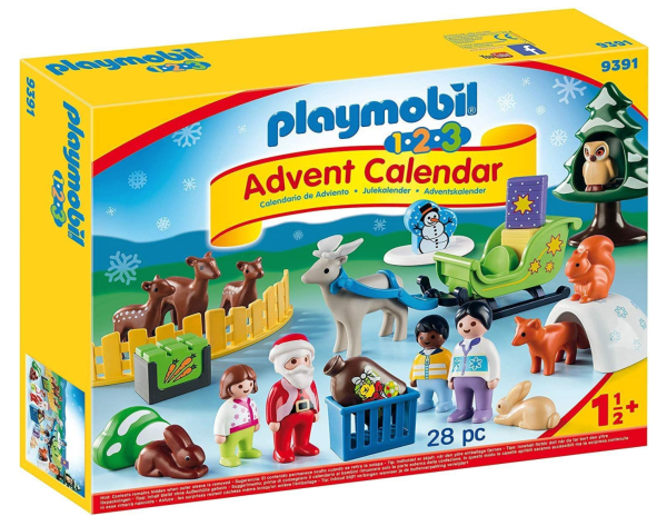 playmobil 123 toddler advent calendar