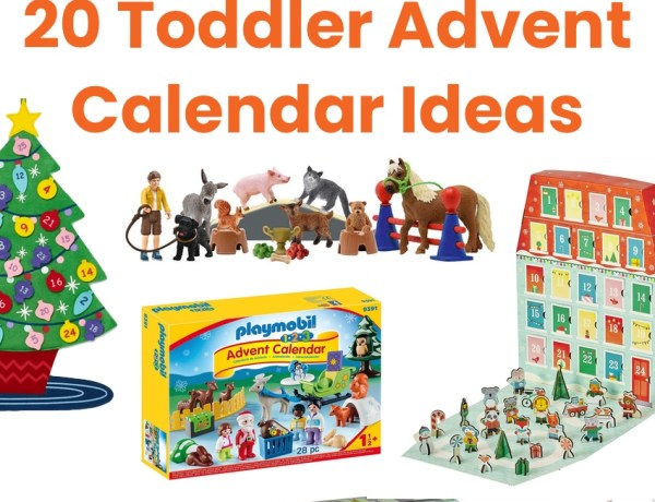 Toddler Advent calendar ideas