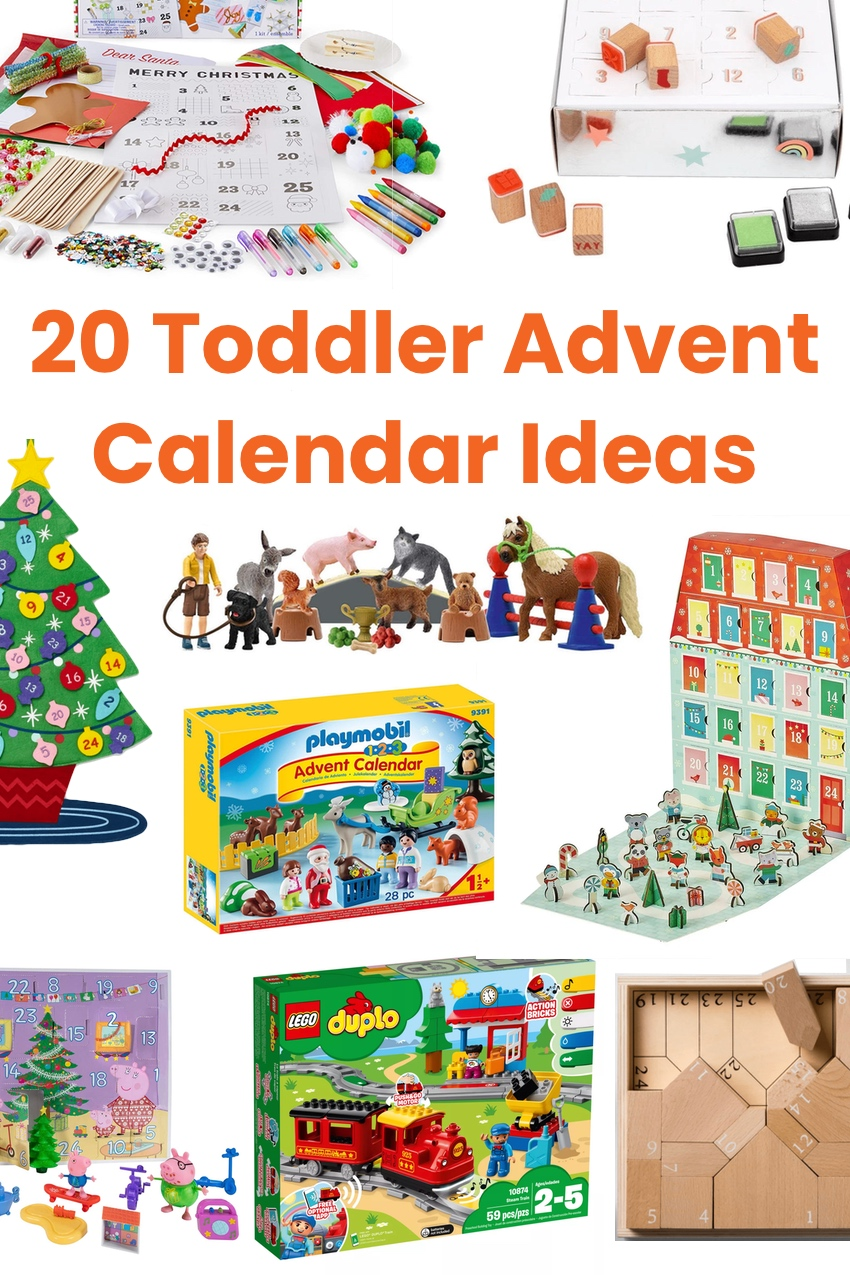 Toddler Advent calendar ideas