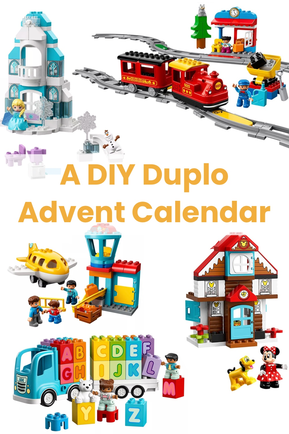 LEGO Duplo Advent calendar - a DIY 12 days of christmas calendar