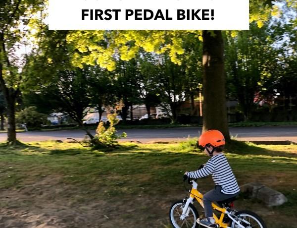 Woom Bike Review - Woom 2 pedal bike