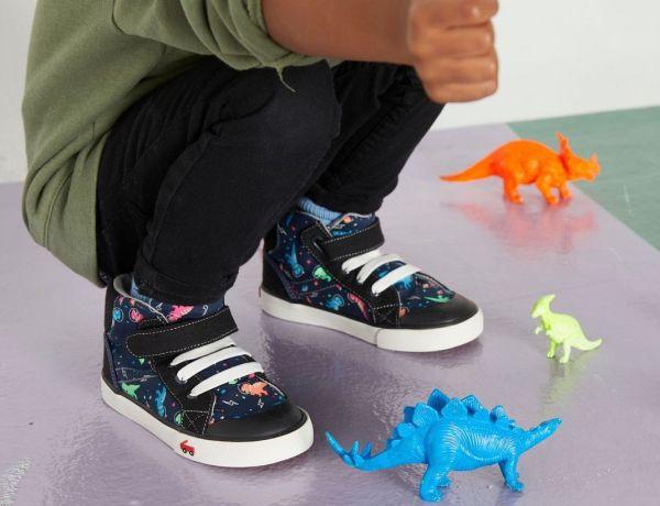 See Kai Run dinosaur shoes