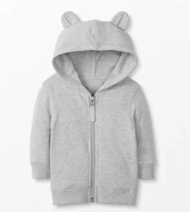 baby bear hoodie with ears
