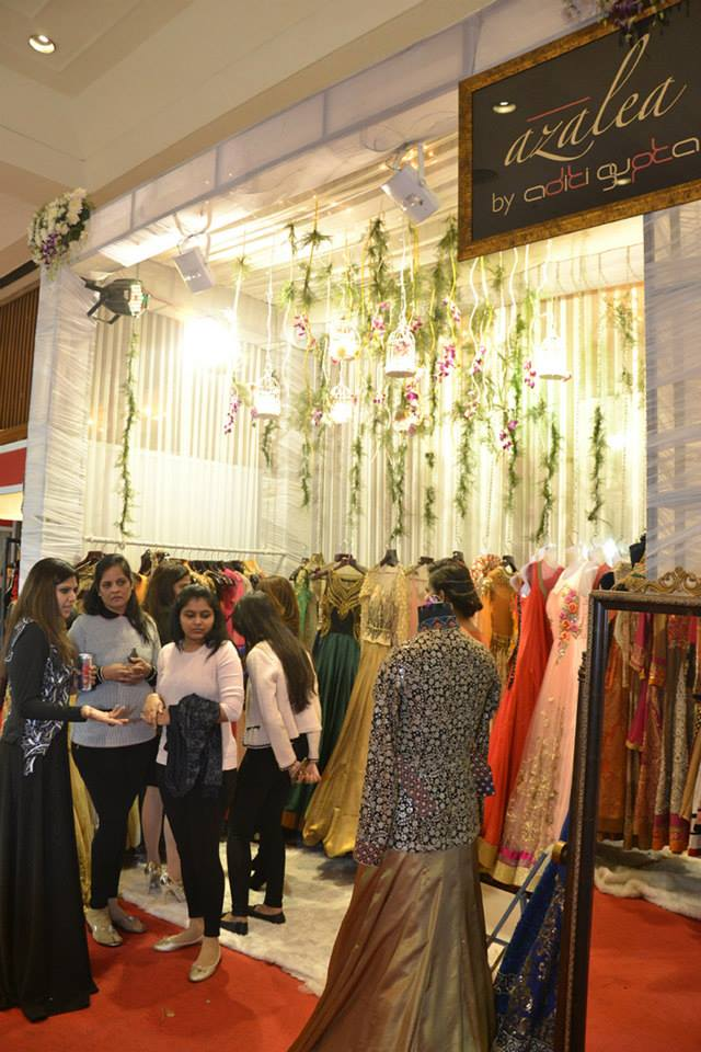 Bridal Wear at the Exhibition