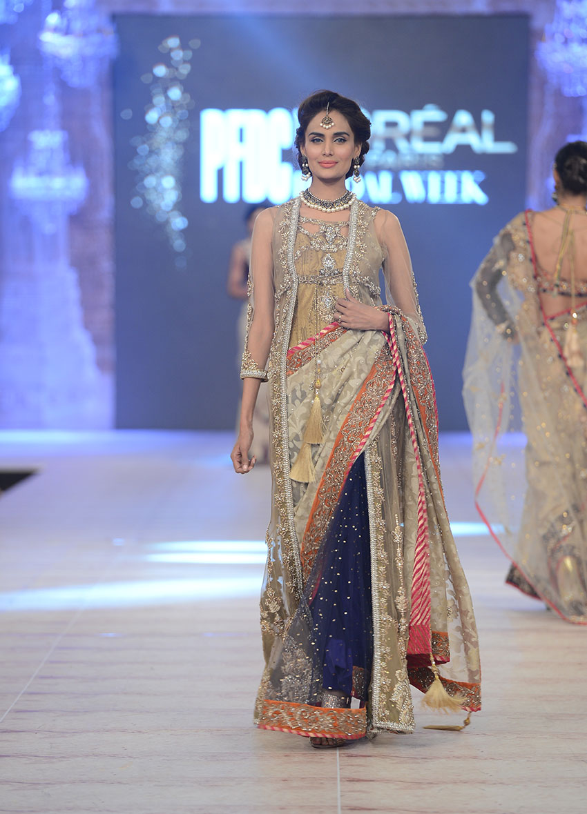 PFDC L`Oreal Paris Bridal Week 2014