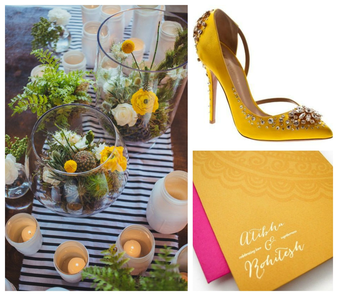 Mustard Yellow Wedding Inspiration