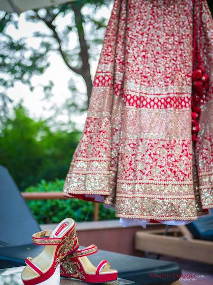 Shooting Your Lehenga
