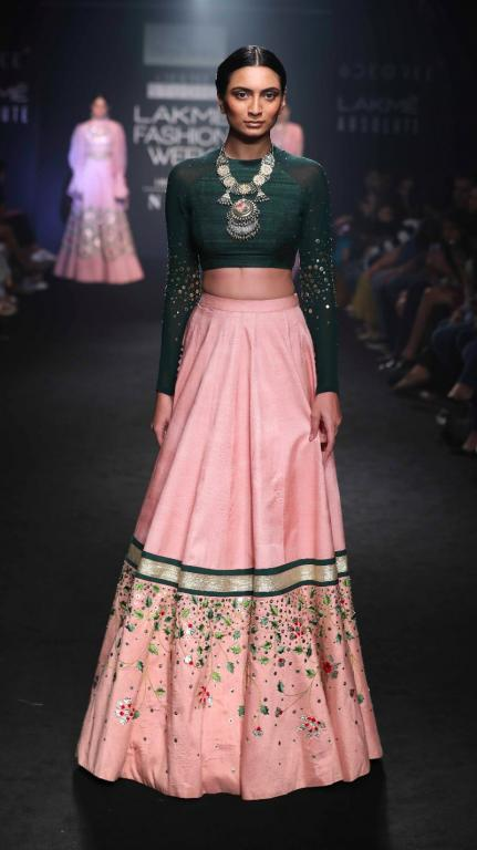 New Lehenga Colour