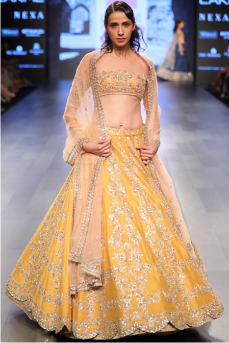 Yellow Lehenga Anushree Reddy